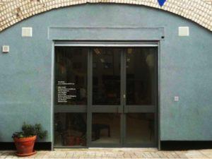 Photograph of the studio's exterior